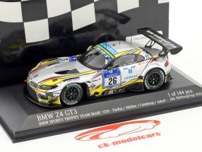 BMW Z4 GT3 #26 24h Nürburgring 2015 Farfus, Müller, Catsburg, Adorf 1:43 Minichamps