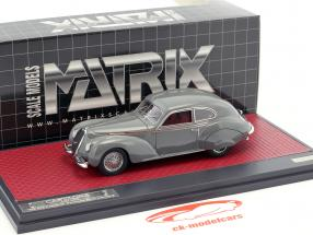 Alfa Romeo 6C Berlinetta Sport Castagna year 1939 ray 1:43 Matrix