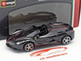 Ferrari LaFerrari Aperta noir 1:43 Bburago