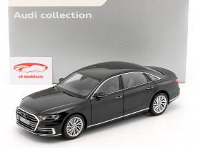 Audi A8 L year 2017 myth black 1:18 Norev