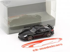 Porsche Cayman GT4 year 2016 black 1:87 Minichamps
