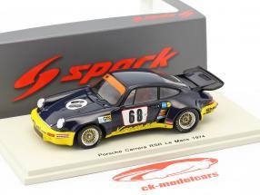 Porsche 911 Carrera RSR #68 24h LeMans 1974 Heyer, Kremer, Keller 1:43 Spark