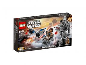 LEGO® Star Wars™ Ski Speeder™ vs. First Order Walker™ Microfighters