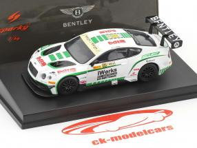 Bentley Continental GT3 #88 Macau GP FIA GT World Cup 2015 Keita Sawa 1:64 Spark