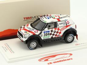 Mini All4 Racing #304 Rallye Dakar 2016 Roma, Bravo 1:43 True Scale