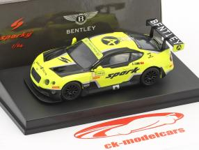 Bentley Continental GT3 #10 5th Macau GP FIA GT World Cup 2016 Adderly Fong 1:64 Spark