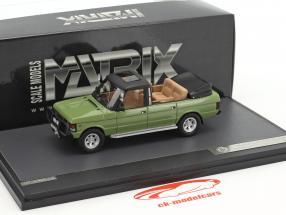 Range Rover Rometsch Hunting Car Honecker year 1985 green 1:43 Matrix