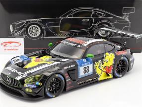 Mercedes-Benz AMG GT3 #88 3rd 24h Nürburgring 2016 Haribo Racing Team 1:12 Premium ClassiXXs