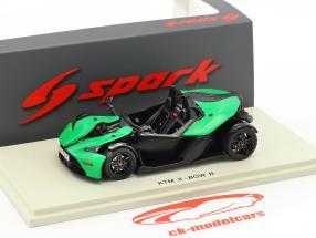 KTM X-Bow R année de construction 2016 vert / noir 1:43 Spark