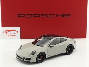 Porsche 911 (991) Carrera GTS chalk gray with Showcase 1:18 Spark
