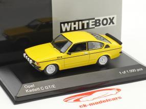 Opel Kadett C GT/E anno di costruzione 1978 giallo 1:43 WhiteBox