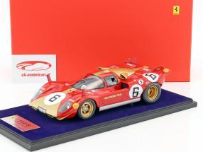 Ferrari 512 S #6 1000km Monza 1970 Loos, Pesch 1:18 LookSmart