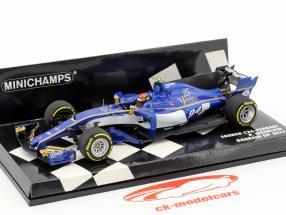 Pascal Wehrlein Sauber C36 #94 bahrain GP formula 1 2017 1:43 Minichamps