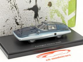 Covington Tiburon Shark year 1961 blue 1:43 AutoCult