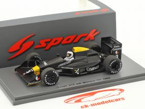 Jonathan Palmer Tyrrell 017 #3 5 ° monaco GP formula 1 1988 1:43 Spark