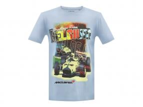 McLaren Greetings from Belgium T-shirt light blue