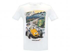 McLaren Greetings from Monaco T-Shirt weiß