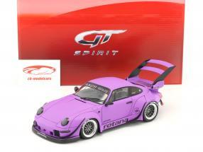 Porsche 911 (993) RWB Rotana matt violett 1:18 GT-Spirit
