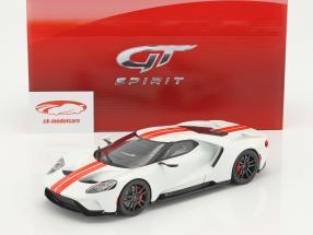 Ford GT anno di costruzione 2017 bianco 1:18 GT-Spirit
