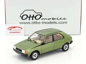 Renault 14 TS year 1983 green metallic 1:18 OttOmobile