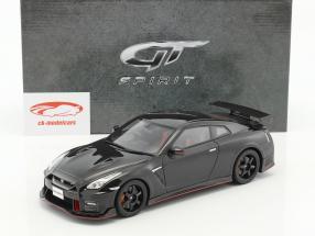 Nissan GT-R Nismo année de construction 2017 noir 1:18 GT-SPIRIT