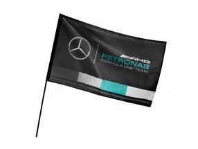 Mercedes-Benz AMG Petronas team flag black 90 x 60 cm