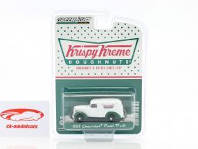 Chevrolet Panel Truck Krispy Kreme anno di costruzione 1939 bianco / verde 1:64 Greenlight