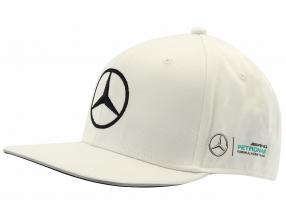 Valtteri Bottas Mercedes AMG Petronas F1 Team Flat Brim Cap bianco