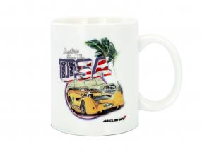 McLaren Greetings from USA Can-Am tasse blanc