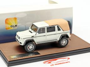 Mercedes-Benz Maybach G650 Landaulet Closed Version Baujahr 2017 weiß metallic 1:43 GLM