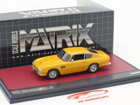Aston Martin DB6 Vantage year 1965 yellow 1:43 Matrix