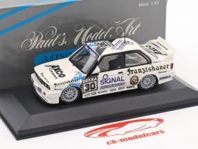 BMW M3 Sport Evo #30 DTM 1991 Leopold Prinz von Bayern 1:43 Minichamps
