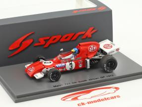 Ronnie Peterson March 721 #3 South Africa GP formula 1 1972 1:43 Spark