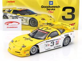 Chevrolet Corvette C5-R #3 2nd 24h Daytona 2000 Fellows, Kneifel, Bell 1:18 Action