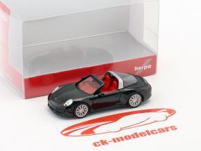 Porsche 911 (991) Targa 4S black 1:87 Herpa