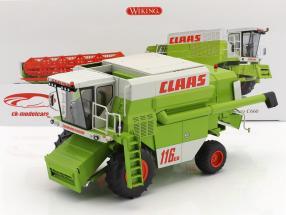 Claas Commandor 116 CS moissonneur vert / blanc / rouge 1:32 Wiking