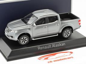 Renault Alaskan Pick-Up Van Baujahr 2017 dunkelgrau 1:43 Norev