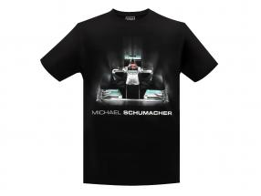Michael Schumacher T-Shirt Tech Grafik schwarz