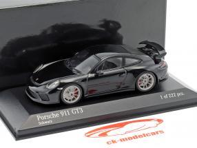 Porsche 911 (991 II) GT3 year 2017 black 1:43 Minichamps