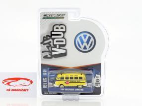 Volkswagen VW Samba Bus scuolabus anno 1964 1:64 Greenlight