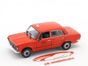 Fiat 125P taxi rouge 1:43 Altaya