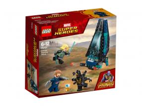 LEGO® Marvel Super Heroes Outrider Dropship-Attacke
