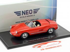 Enzmann 506 Cabriolet Baujahr 1957 rot 1:43 Neo