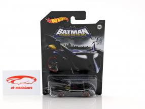 Batmobile DC Comics The Brave and the Bold black 1:64 HotWheels
