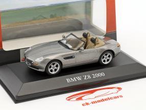 BMW Z8  year 2000 grey metallic 1:43 Atlas