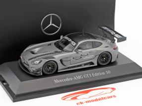 Mercedes-Benz AMG GT3 Edition 50 years gray metallic 1:43 Minichamps