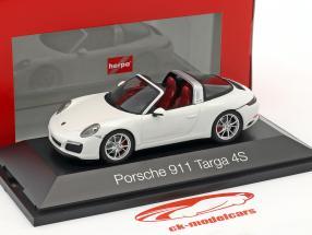 Porsche 911 (991 II) Targa 4S Baujahr 2016 weiß 1:43 Herpa