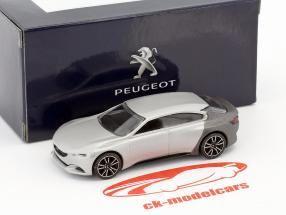 Peugeot Exalt Concept Car Salon de Paris 2014 silver metallic / Gray metallic 1:64 Norev