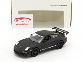 Porsche 911 (997) GT3 RS mat black 1:24 Welly