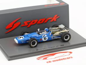 Jean-Pierre Beltoise Matra MS11 #6 French GP formula 1 1968 1:43 Spark